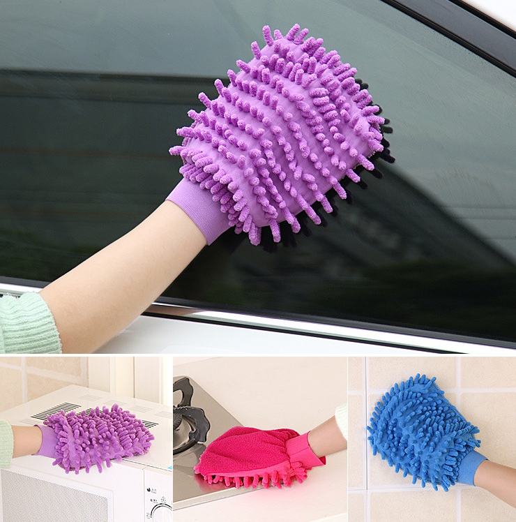 car cleaning gloves