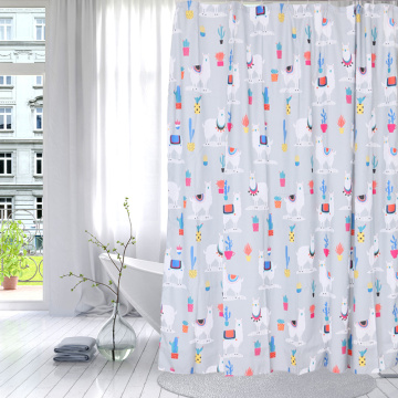 Chinese Professional for Shower Curtain Polyester Shower Curtain Polyester Cute Alpaca export to Ecuador Importers