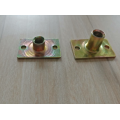 ZP Two  Holes Stampings Tee nuts
