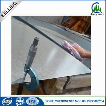 galvanized aluzinc corrguated iron steel sheet