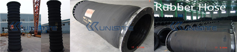 rubber hoses dredge pipes
