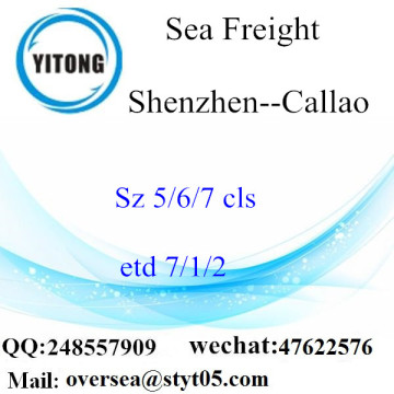 Shenzhen Port LCL Consolidation To Callao