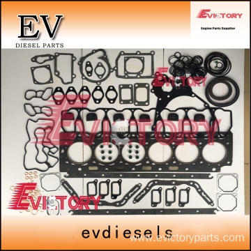 excavator D6D engine gasket bearing piston ring liner