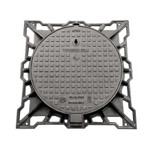 100% Original for Cast Iron Drain Cover Ductile Iron Manhole Cover for Air Park export to Saint Vincent and the Grenadines Manufacturer