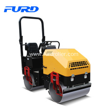 Cheap price for Ride-On Road Roller 1.7 Ton Double Drum Vibratory Roller export to Burundi Factories