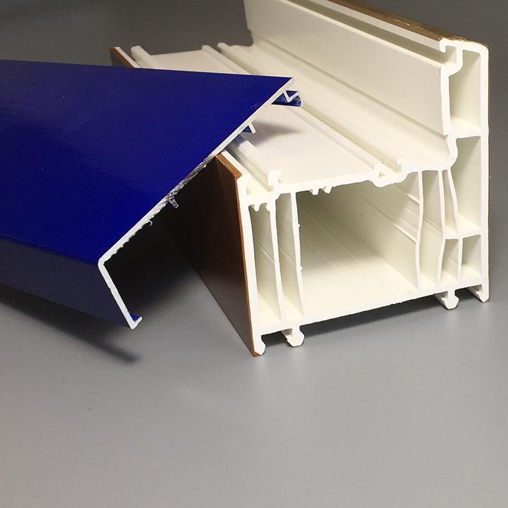 70mm external aluminium covered pvc profile7