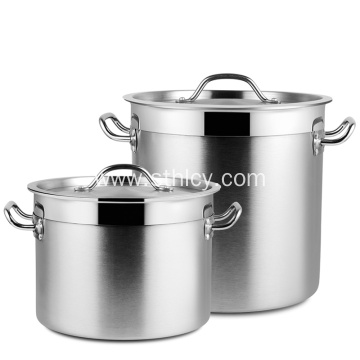 Large Stainless Steel Stock Pot Set
