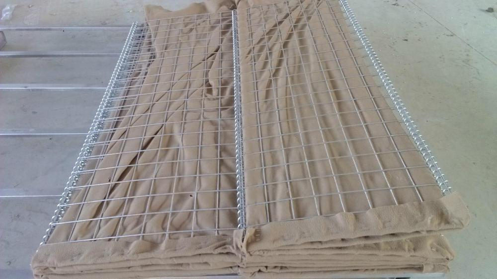 Professional supply used hesco barriers price for partion