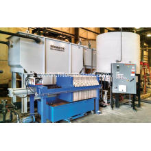 Low Moisture Content Mineral and Metallurgy Filter Press