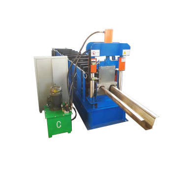 Metal Omega Sheet Roll Forming Machine