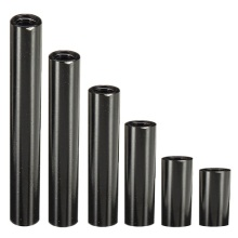 OEM CNC Machining black Anodized Aluminum Spacer