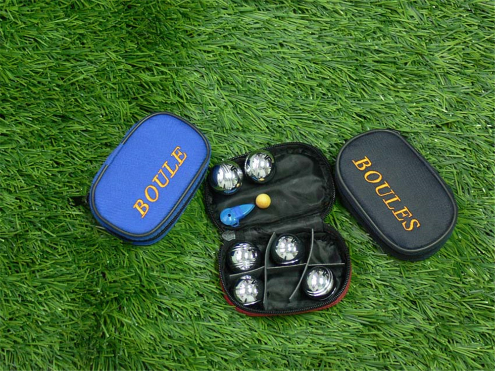 6 bocce ball with nylon bag