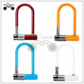 Mini U-shaped anti-theft bicycle motor bike lock for sale