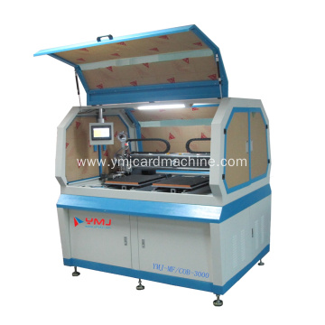Leading for Ultrasonic Embedding Contactless Smart Card Module Mounting Machine export to Cuba Wholesale