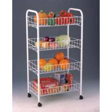 Leading for Tiered Fruit Basket Multi Using Compound Cart supply to Poland Manufacturer