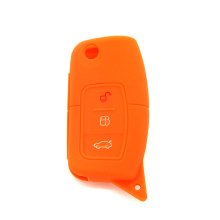 Colorful car key fob silicon holder for Ford