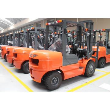 4.0 Ton Diesel Forklift With Comfortable Seat