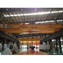 China for Overhead Travelling Crane Double Girder Overhead Crane 200+50T export to Venezuela Manufacturers