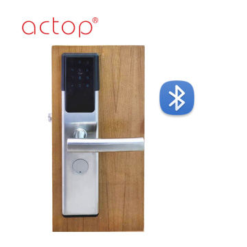Stainless Steel APP remote control password smart Lock for hotel