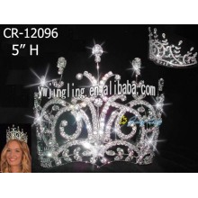 5 Inch Hot Beauty Queen Crowns