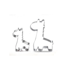 giraffe shape biscuit custom cookie cutter baking tools