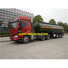 30MT 3 Axles Hydrochloric Acid Transport Semi-Trailers