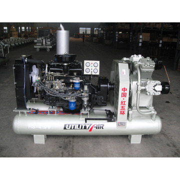 Hongwuhuan HS4.5-6C diesel 6bar 35kw air compressor