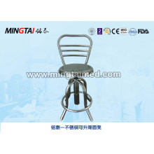 Stainless steel lifting round stool seat