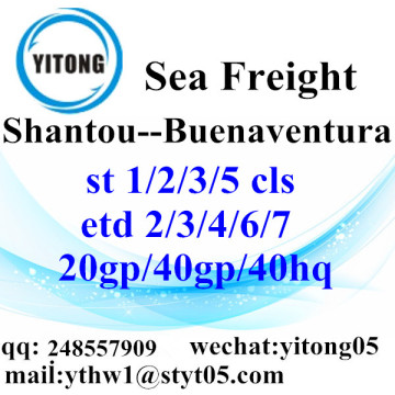 Shantou Sea Freight Shipping Services to Buenaventura