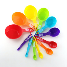 Customized for Plastic Measuring Cups 14PCS Measuring Cups And Spoon Set supply to India Supplier