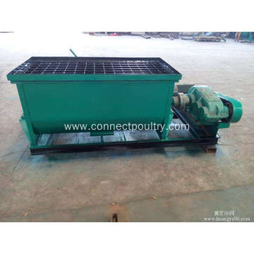 manure Single shaft mixer
