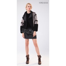 Factory source manufacturing for Natural Fur Women Long Jackets Short Fur Jacket for Sale export to Spain Exporter