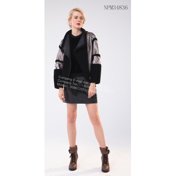Factory Price for China Women Winter Fur Jacket,Natural Fur Women Long Jackets,Short Winter Women Jacket Manufacturer and Supplier Short Fur Jacket for Sale export to United States Manufacturer