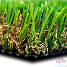 15 Height Army Green Synthetic Pets Artificial Lawn