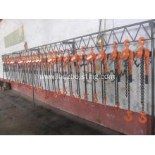 Good Quality for HSH Type Lever Chain Block 9T HSH Ratchet Lever Hoist Chain Hoist export to India Importers
