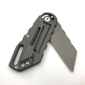 M390 Steel Camping Survival Folding Titanium Tactical Knife
