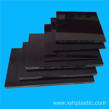 Top for Plastic ABS Sheet Black Flame Retardant VO Grade ABS Sheet export to Italy Factories
