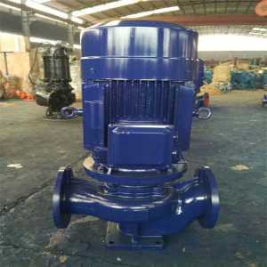 IRG outdoor single-stage hot water pump
