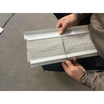 Rotary Punching Aluminium Gutter Cover Roll Former