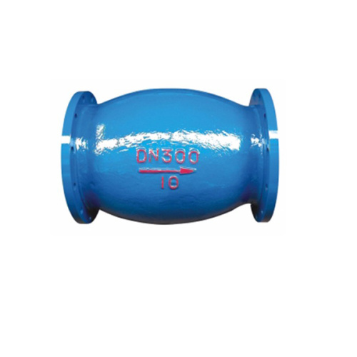 Sewage ball type vertical Check valve