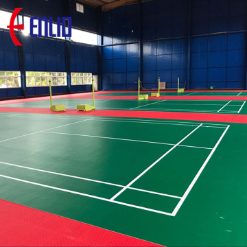 BWF approved Badminton Court flooring