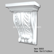 Factory made hot-sale for Decorative Brackets For Shelves Small Size PU Beam Corbels and Brackets supply to Portugal Exporter