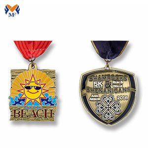 Custom different types of gold medals