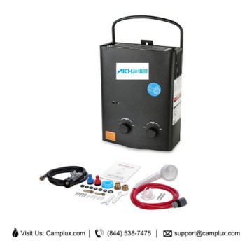1.32 GPM Hybrid HotTankless Water Heater in Black