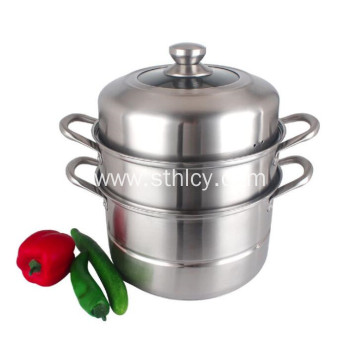 2 Tier Best Stainless Steel Steamer Pot