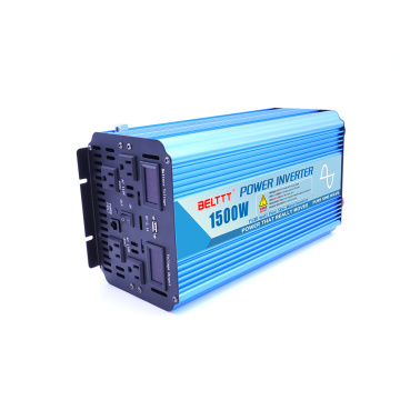 Quality for Power Inverter With Charge 1500W Power Inverter with Wired Remote export to Germany Manufacturers