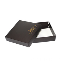 Black Design Logo Packaging Luxury Packaging With Lid