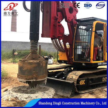 Dingli produce pile foundation drilling machine price