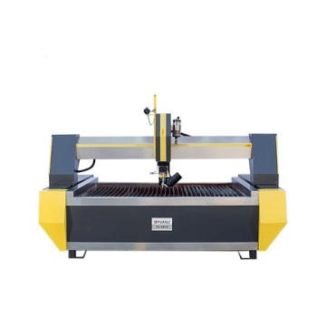 aluminum steel processing waterjet cutter