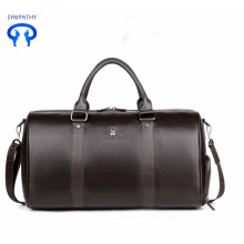 Single shoulder portable pu travel bag